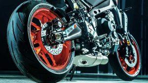 Yamaha MT-09 2021 Uitlaat