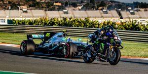 Lewis Hamilton x Valentino Rossi