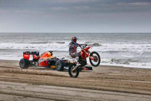Maxx Verstappen en Jeffrey Herlings