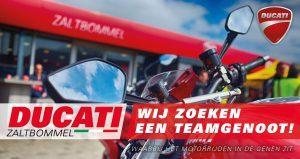 Vacature Ducati Zaltbommel