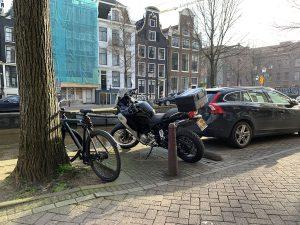 Motor parkeren Amsterdam