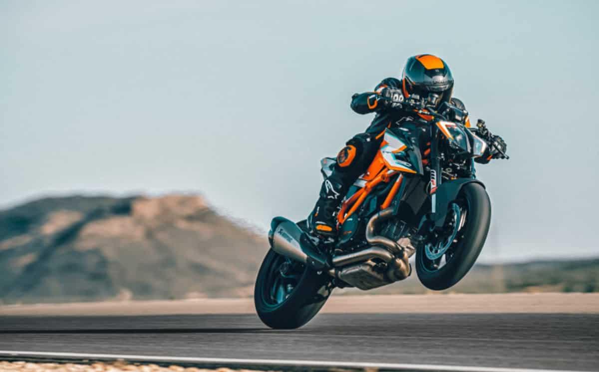 2021 KTM 1290 Super Duke RR uitverkocht